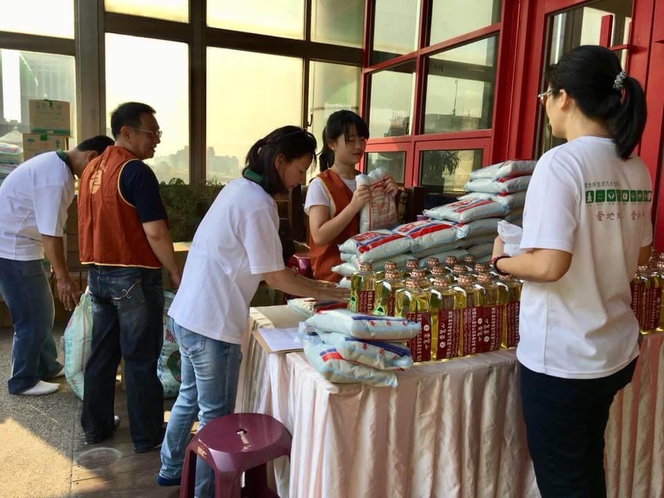台南法會燄口擺設新春茶會