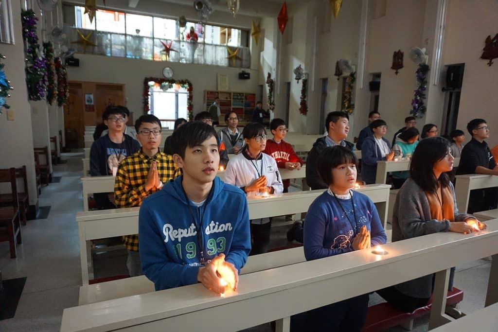 基隆聖誕節宗教交流 靈鷲山國際青年團基隆區團